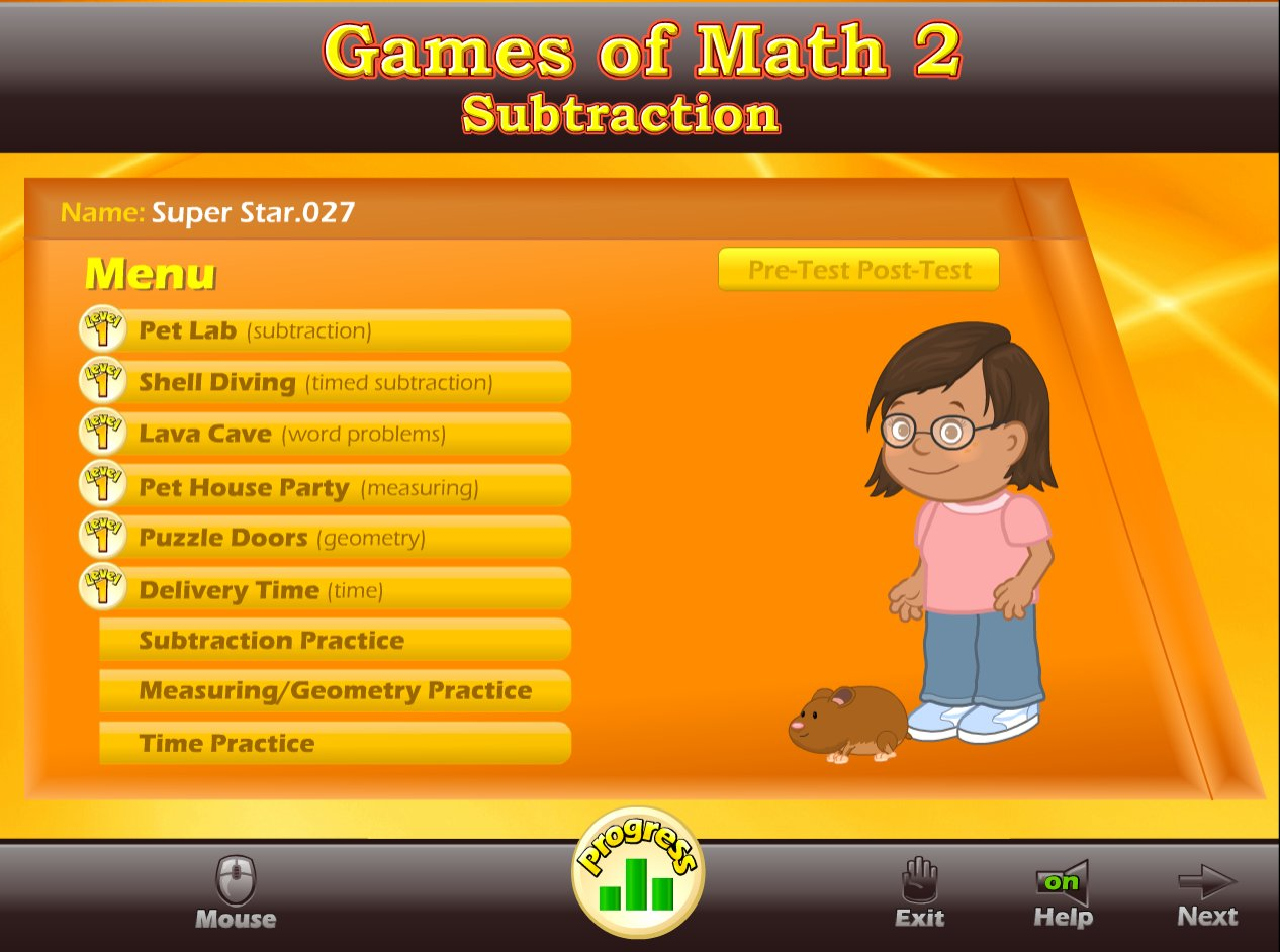 Games of Math 2 - Subtraction & More